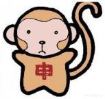 怎么画2016年猴年春节:可爱的彩色猴子简笔画的教程