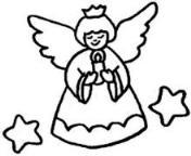 怎么画幼儿卡通天使简笔画