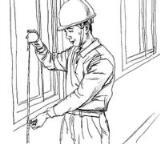 怎么画儿童五一劳动节:忙碌的工人简笔画的教程