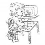 怎么画庆五一:爱劳动的小男孩简笔画的教程
