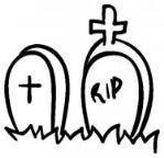 怎么画万圣节墓地简笔画的教程