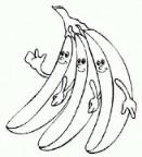 怎么画可爱的卡通香蕉简笔画