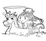 怎么画端午节卡通动漫简笔画的教程