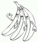 教你画可爱的卡通香蕉简笔画