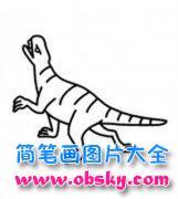 儿童简笔画:恐龙
