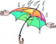 怎么画卡通雨伞简笔画的教程